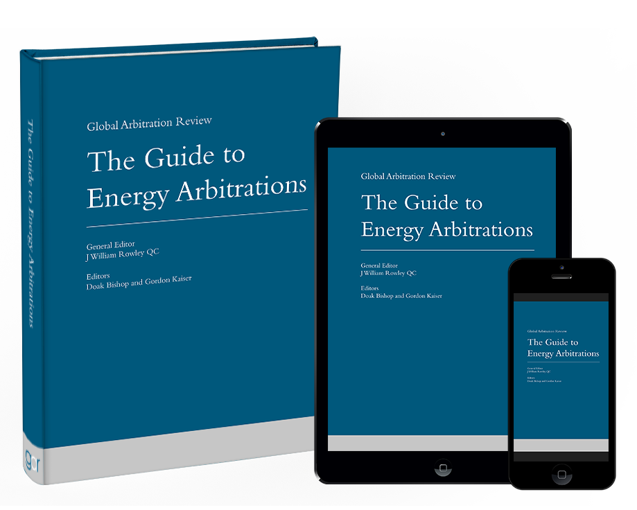 Front cover of The Guide to Energy Arbitrations